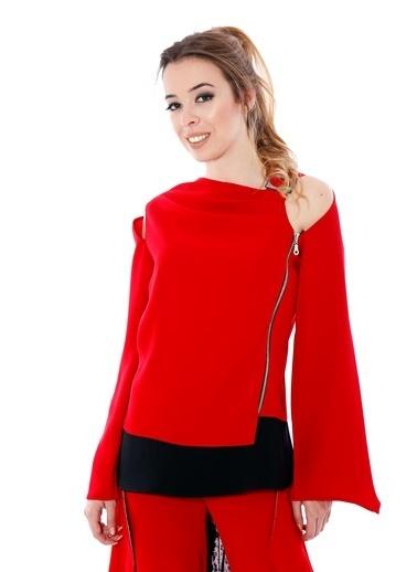 Soie Design Bluz Kırmızı